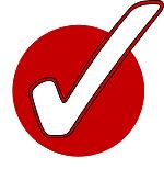 red circle tick