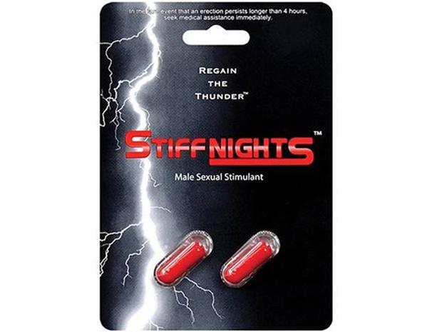Stiff Nights illegal male enhancement pills