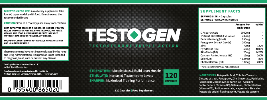 testogen ingredients - After Before Pics