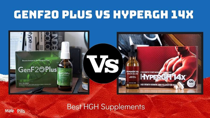 GenF20 Plus vs HyperGH 14x