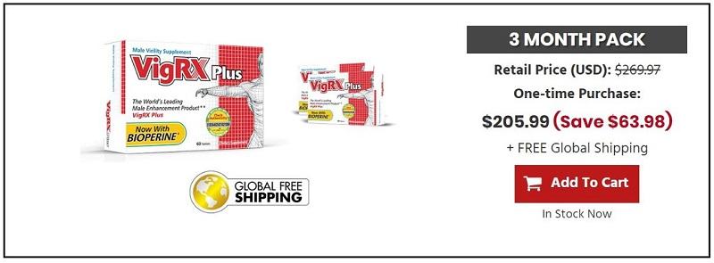 vigrx plus 3 months supply