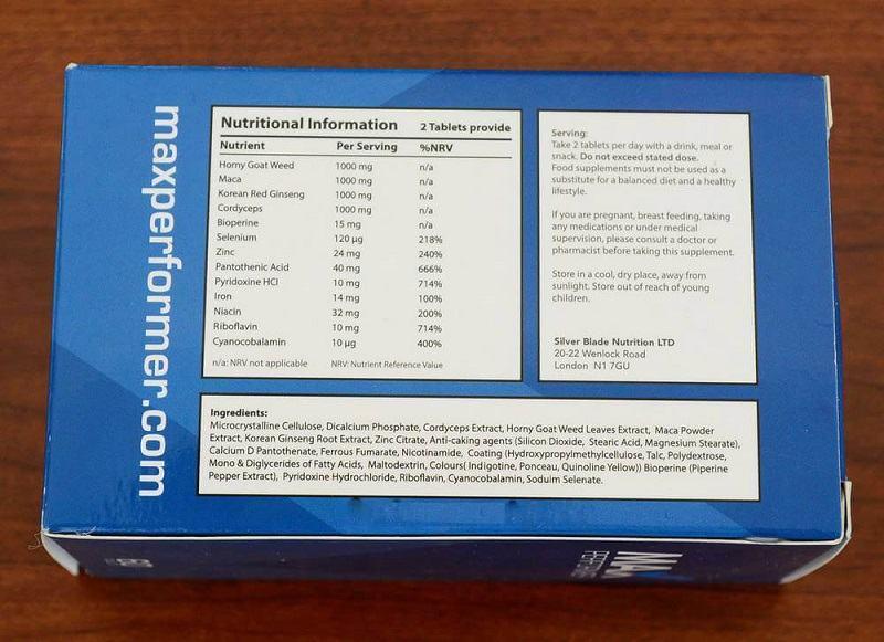 max-performer-ingredients-label
