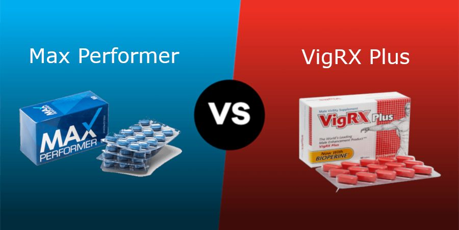 max performer vs vigrx plus