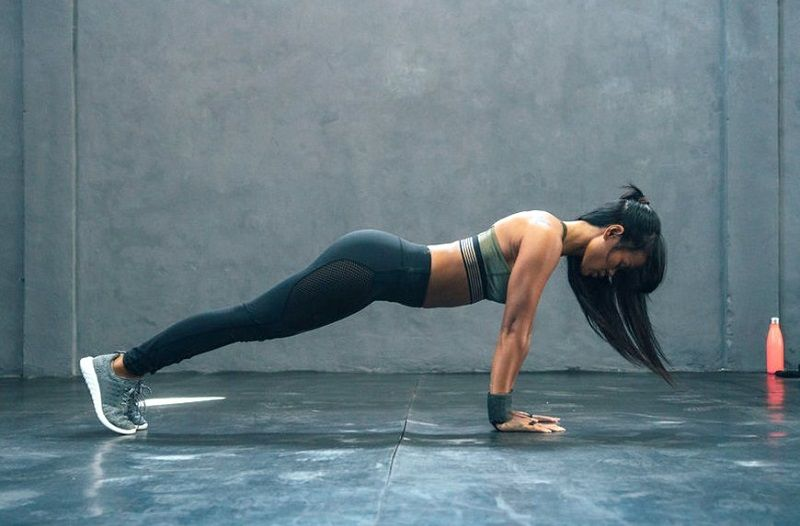 Breast Firming Exercises Pushup